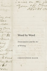 Cover: Word by Word: Emancipation and the Act of Writing