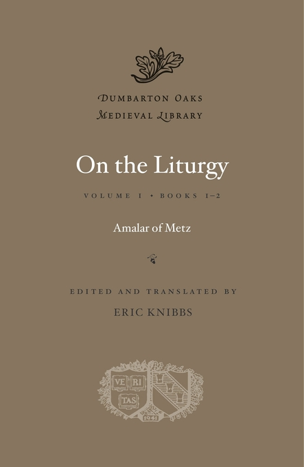Cover: On the Liturgy, Volume I: Books 1-2, from Harvard University Press