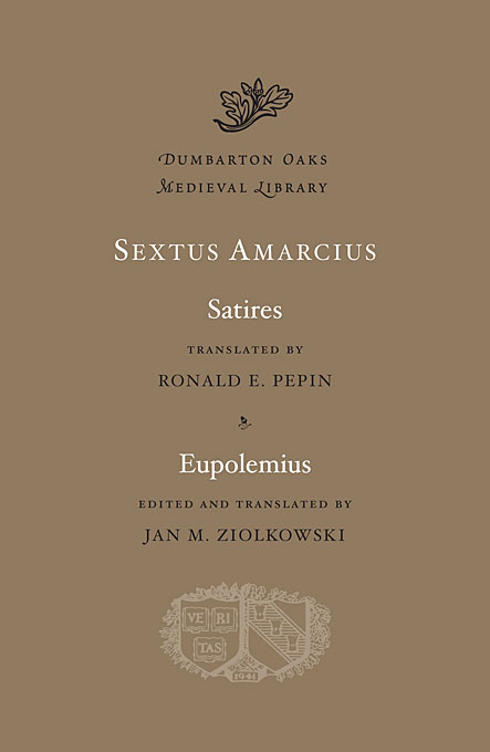 Cover: Satires. Eupolemius, from Harvard University Press