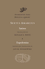 Cover: Satires. Eupolemius in HARDCOVER