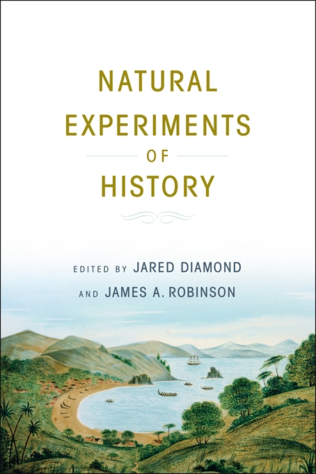 Cover: Natural Experiments of History, from Harvard University Press