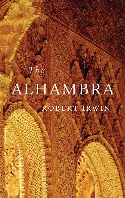 Cover: The Alhambra, from Harvard University Press