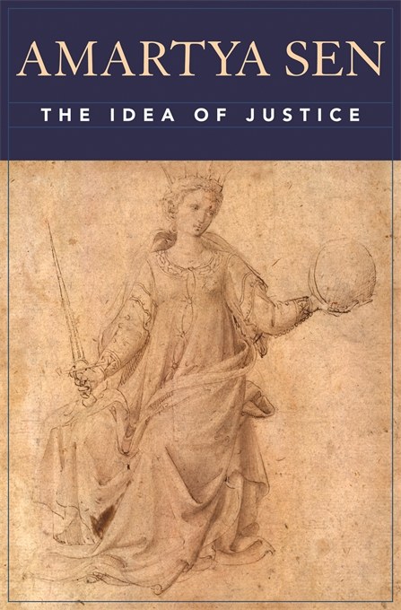 Cover: The Idea of Justice, from Harvard University Press
