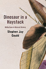 Cover: Dinosaur in a Haystack: Reflections in Natural History