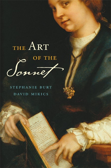 Cover: The Art of the Sonnet, by Stephanie Burt and David Mikics, from Harvard University Press