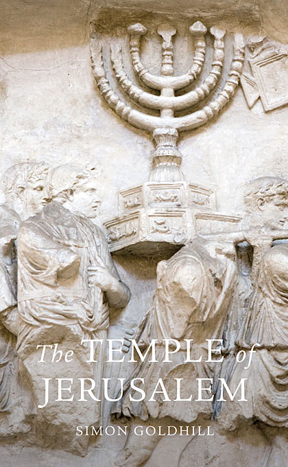 Cover: The Temple of Jerusalem, from Harvard University Press
