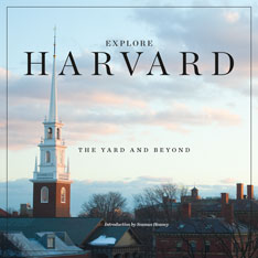 Cover: Explore Harvard: The Yard and Beyond