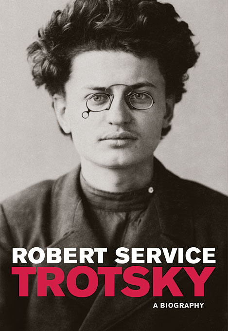 Cover: Trotsky: A Biography, from Harvard University Press