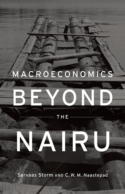 Cover: Macroeconomics Beyond the NAIRU, from Harvard University Press