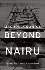 Cover: Macroeconomics Beyond the NAIRU in HARDCOVER