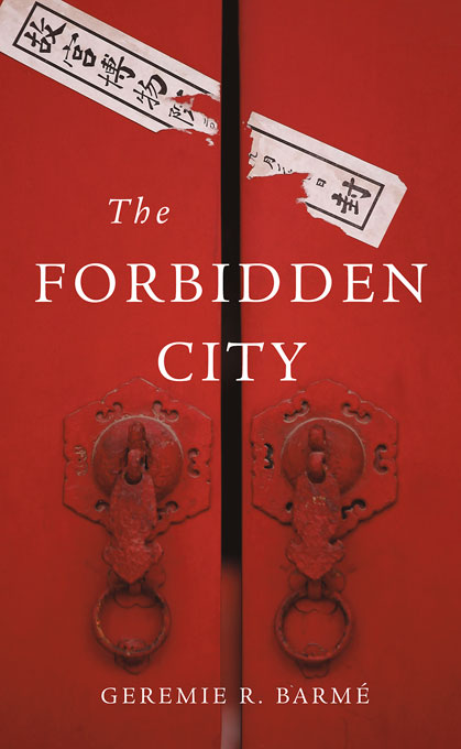 Cover: The Forbidden City, from Harvard University Press