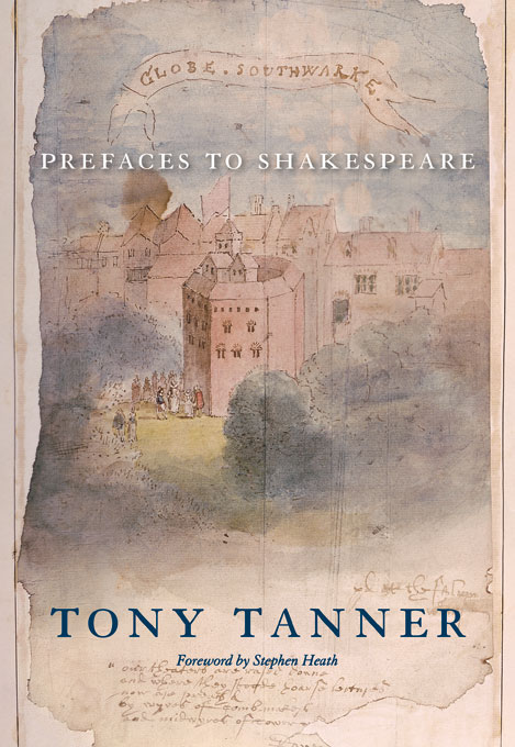 Cover: Prefaces to Shakespeare, from Harvard University Press