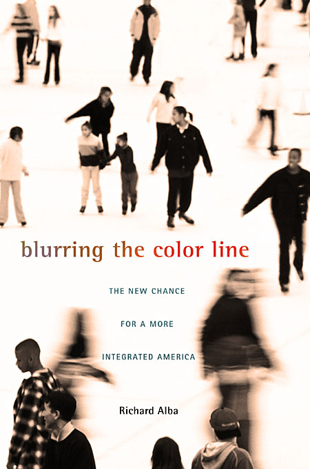 Cover: Blurring the Color Line: The New Chance for a More Integrated America, from Harvard University Press