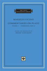 Cover: Commentaries on Plato, Volume 2: <i>Parmenides</i>, Part II in HARDCOVER