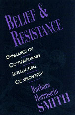 Cover: Belief and Resistance: Dynamics of Contemporary Intellectual Controversy