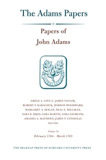 Cover: Papers of John Adams, Volume 16: February 1784 – March 1785