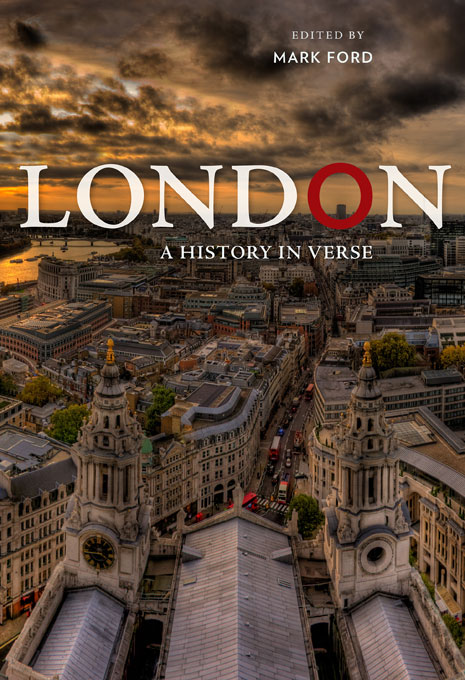 Cover: London: A History in Verse, from Harvard University Press