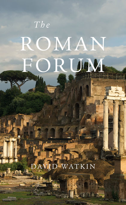 Cover: The Roman Forum, from Harvard University Press