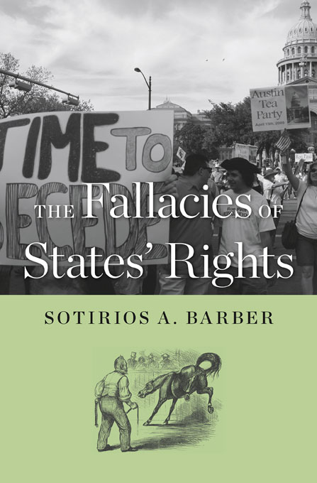 Cover: The Fallacies of States' Rights, from Harvard University Press