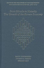 Cover: From Miracle to Maturity: The Growth of the Korean Economy