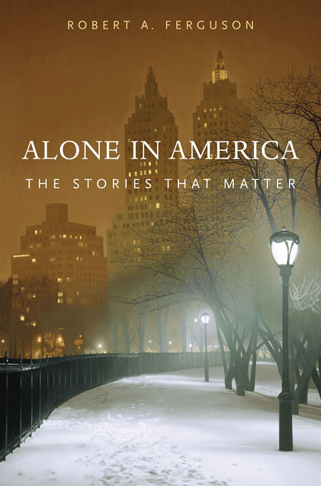 Cover: Alone in America: The Stories that Matter, from Harvard University Press
