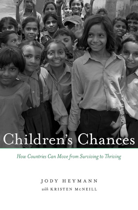 Cover: Children's Chances: How Countries Can Move from Surviving to Thriving, from Harvard University Press