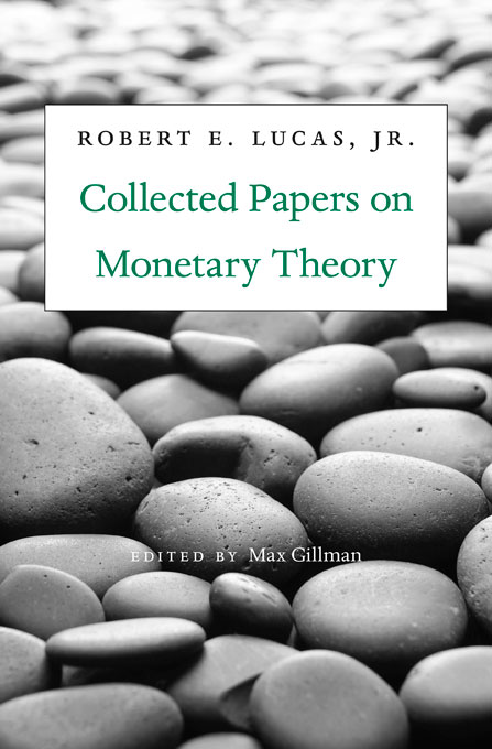 Cover: Collected Papers on Monetary Theory, from Harvard University Press