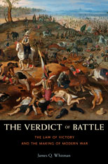 Cover: The Verdict of Battle in HARDCOVER