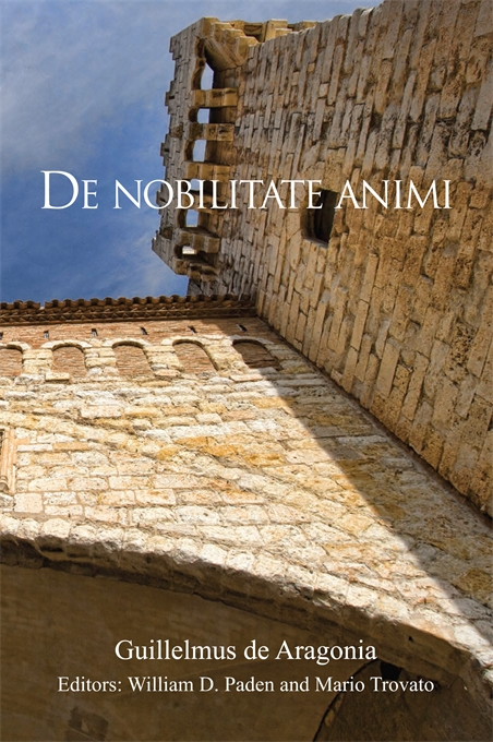 Cover: De nobilitate animi, from Harvard University Press