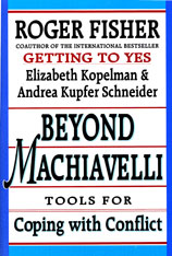Cover: Beyond Machiavelli: Tools for Coping with Conflict