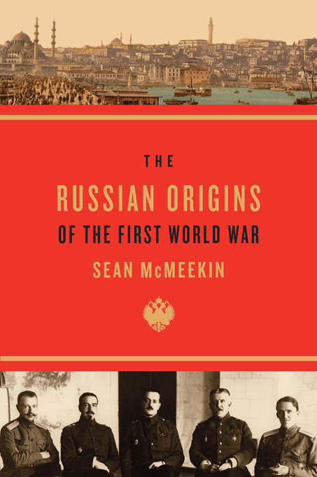 Cover: The Russian Origins of the First World War, from Harvard University Press