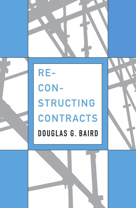Cover: Reconstructing Contracts, from Harvard University Press