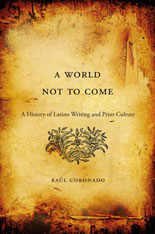 Cover: A World Not to Come in HARDCOVER