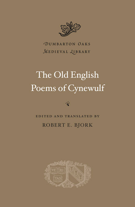 Cover: The Old English Poems of Cynewulf, from Harvard University Press