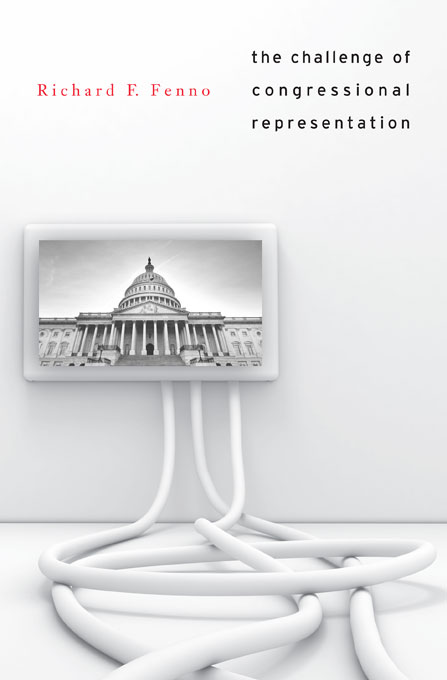 Cover: The Challenge of Congressional Representation, from Harvard University Press
