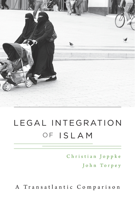 Cover: Legal Integration of Islam: A Transatlantic Comparison, from Harvard University Press