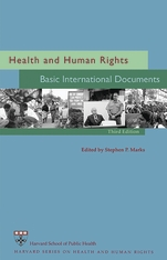 Cover: Health and Human Rights: Basic International Documents, Third Edition