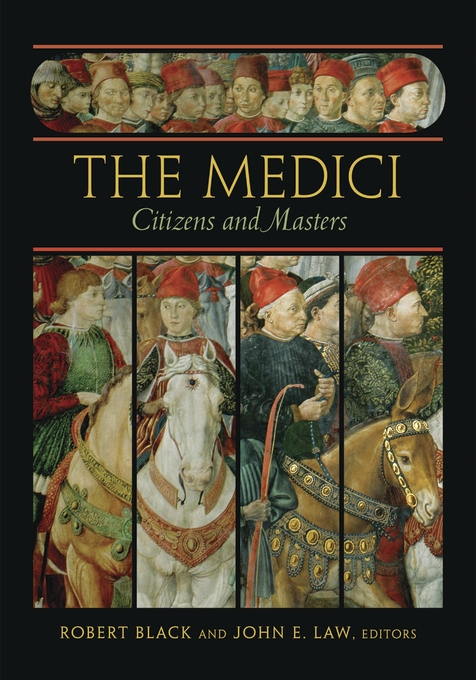 Cover: The Medici: Citizens and Masters, from Harvard University Press