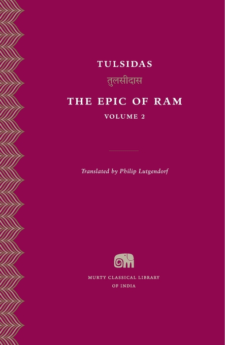 Cover: The Epic of Ram, Volume 2, from Harvard University Press