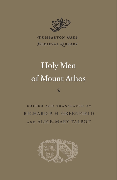 Cover: Holy Men of Mount Athos, from Harvard University Press