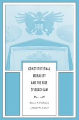 Cover: Constitutional Morality and the Rise of Quasi-Law in HARDCOVER