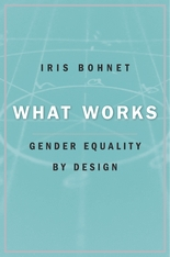 Cover: What Works: Gender Equality by Design