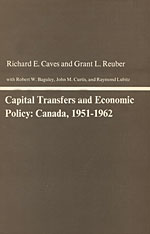 Cover: Capital Transfers and Economic Policy: Canada, 1951-1962