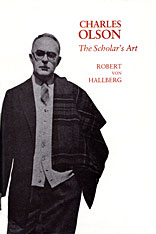 Cover: Charles Olson: The Scholar's Art