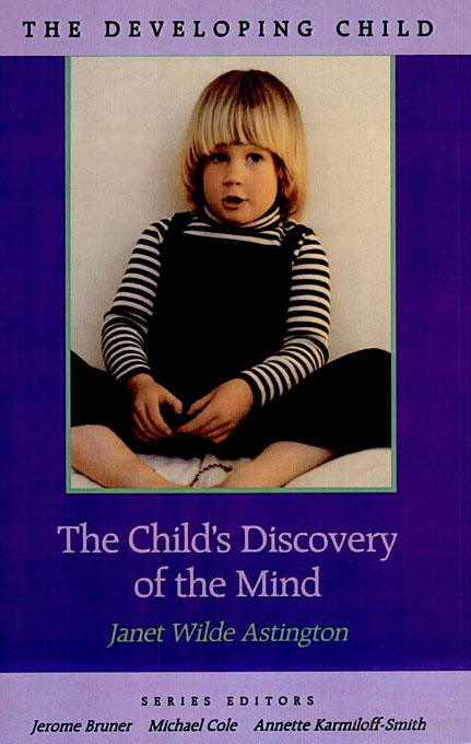 Cover: The Child's Discovery of the Mind, from Harvard University Press