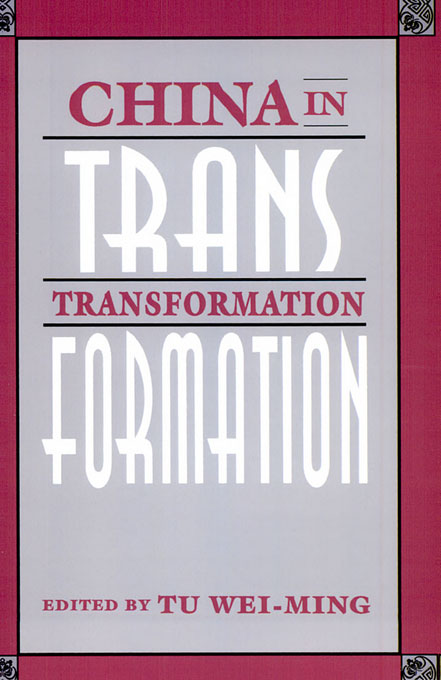 Cover: China in Transformation, from Harvard University Press