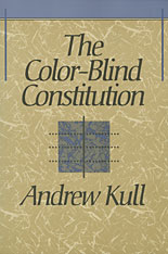 Cover: The Color-Blind Constitution