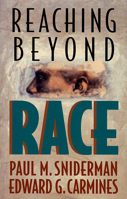 Cover: Reaching beyond Race, from Harvard University Press