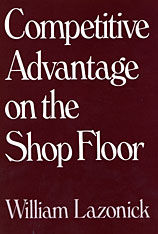 Cover: Competitive Advantage on the Shop Floor in HARDCOVER