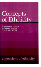 Cover: Concepts of Ethnicity